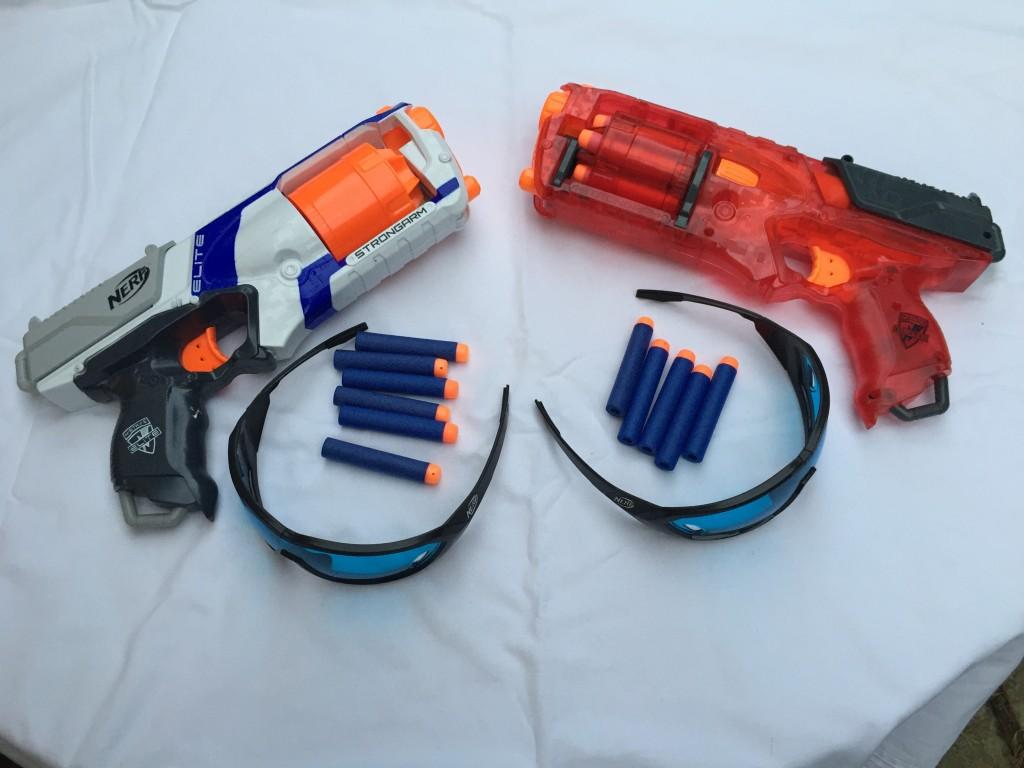 Location pistolets Nerf