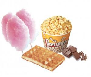 Popcornegaufre